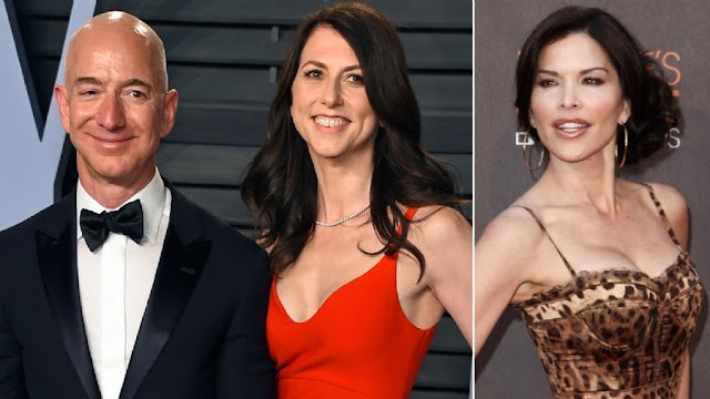 #SexScandal :Amazon CEO Jeff Bezos has accused the National Enquirer of extortion over intimate photos with Lauren Sanchez.