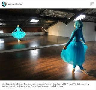 kisah hidayah Stephanie Kurlow sang balerina asal australia