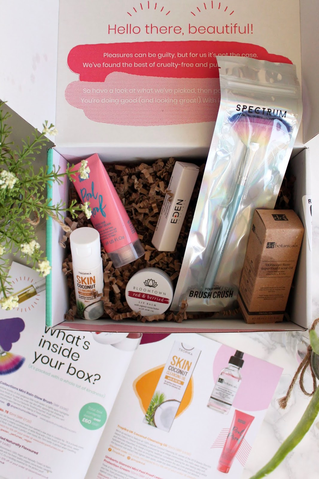 The Vegan Kind June Beauty Box