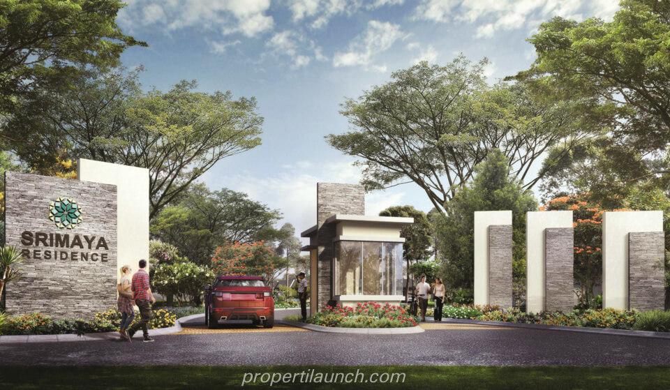 Gate Cluster Srimaya Residence