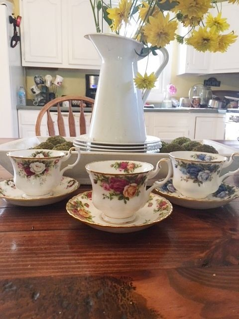 Tea On Tuesday : My Royal Albert Tea Cups