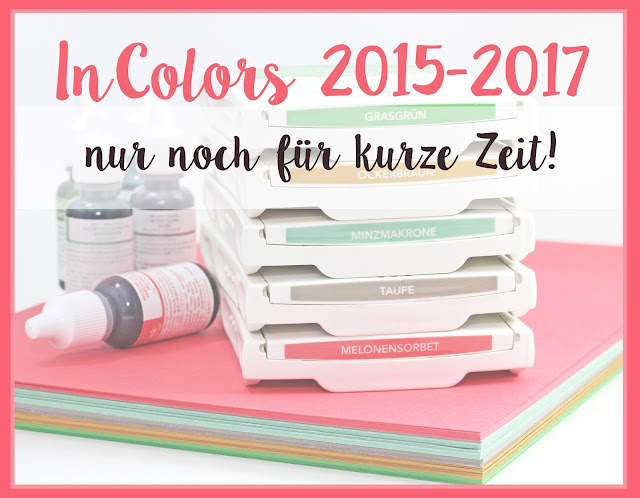 Stampin Up Sale a Bration In Colors 2015-2017