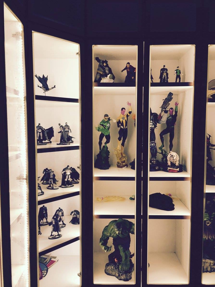 Fukusu Action Figure Collector Display Cabinet With Led