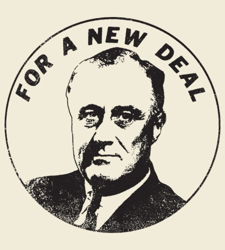 An analysis of the new deal program by franklin roosevelt