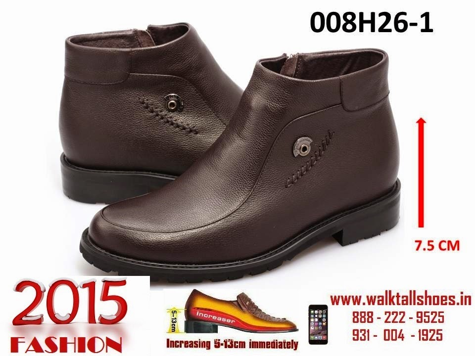 335c5f6c8212 Elevator shoes for men to get 5 inches taller height increase invisibly