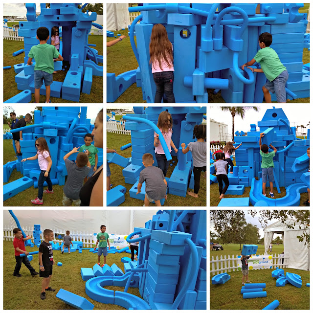 Building fun at the Imagination Playground PGA Cadillac Championship