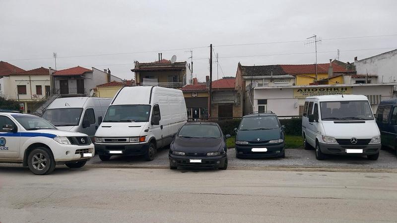 """Σουφλί: Επιχείρηση """"εγκαταλελειμμένα οχήματα"""""""