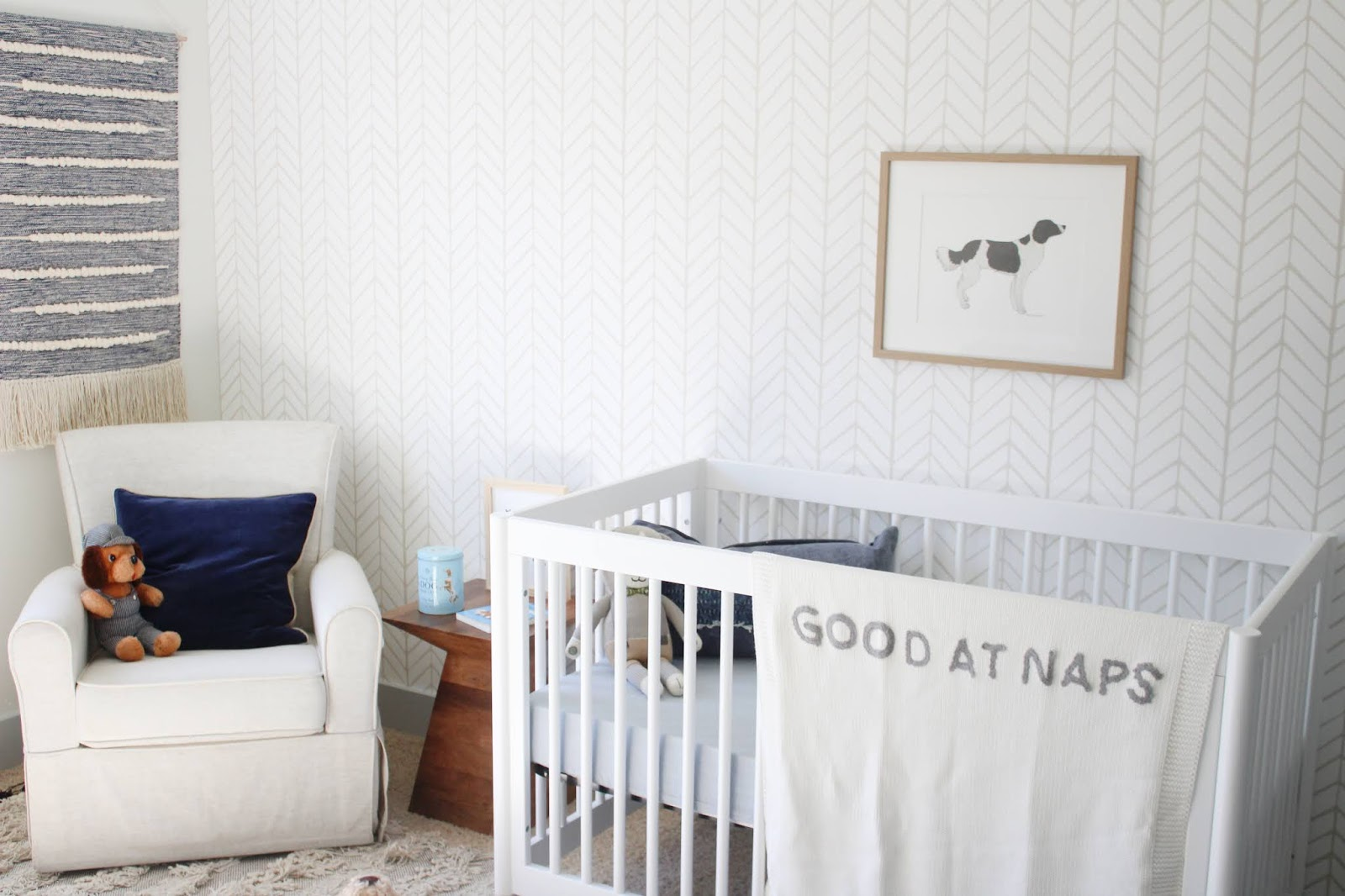 Puppy Themed Baby Boy Nursery Brooke