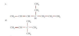 Tata Nama dan Rumus Molekul serta Contoh Senyawa Hidrokarbon Alkena