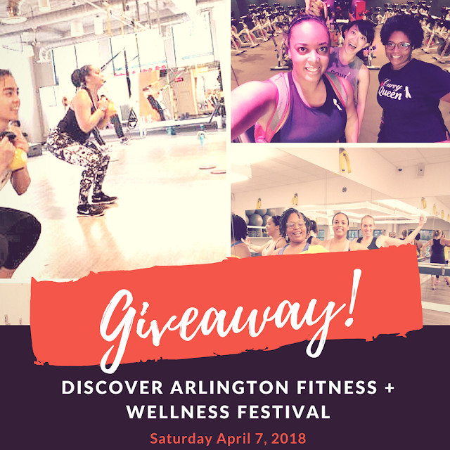 Discover Arlington Fitness + Wellness Festival Giveaway