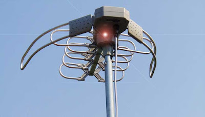 Antena penangkap sinyal siaran televisi