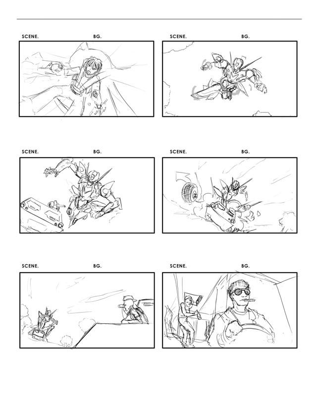 Vertical Storyboard Sample Storyboarding Basics By Brian Lemay 5