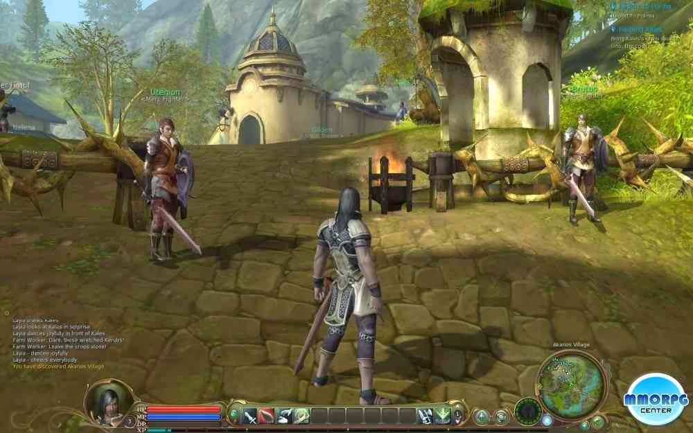 Gameplay Screenshots. Aion Video Review