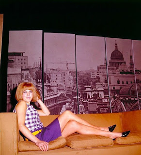 Pauline Boty as Lola in Afternoon Men, New Arts Theatre 1963
