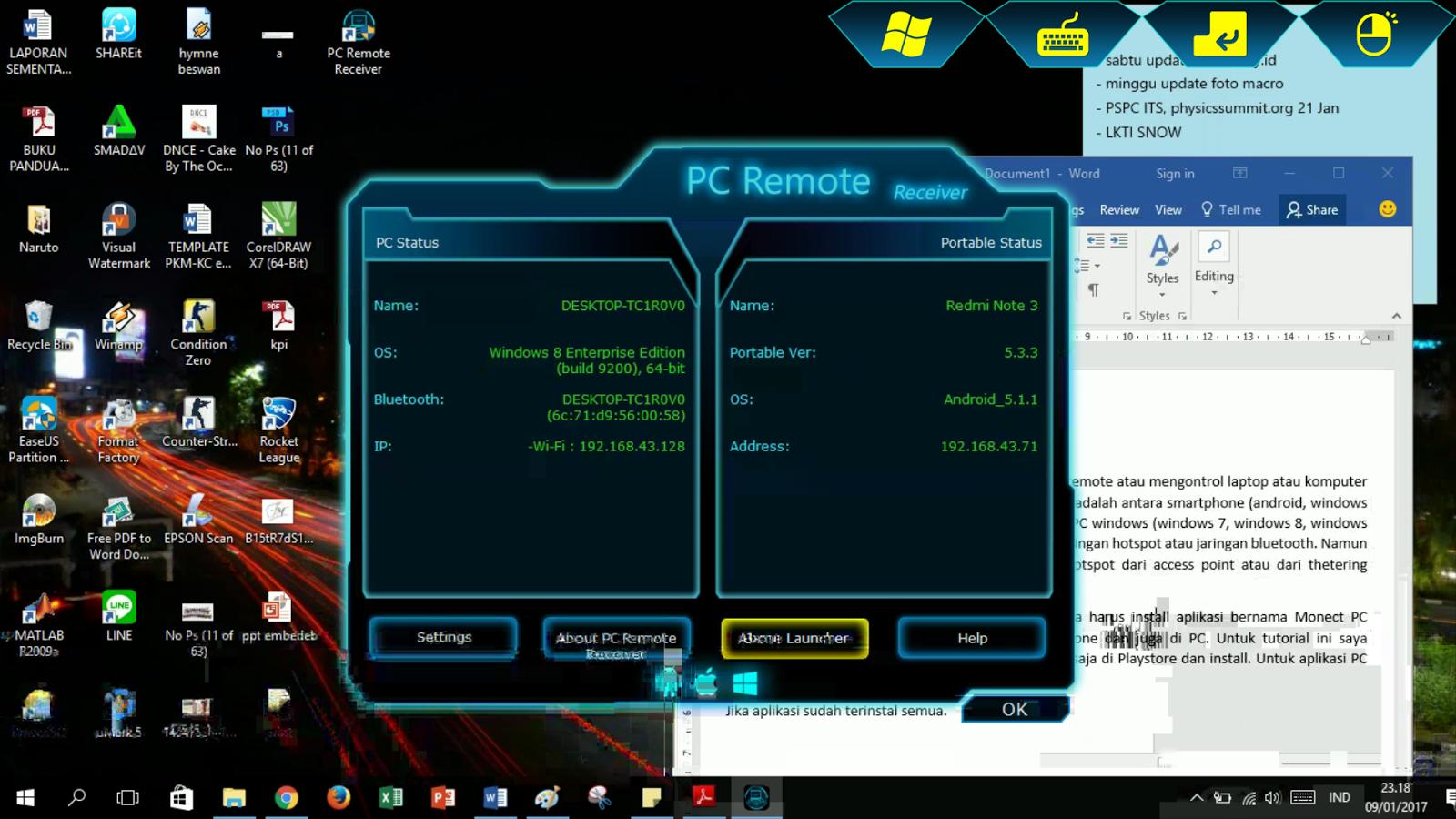 Monect PC Remote - Cara Mudah Remote PC Anda | == dinata my id ==