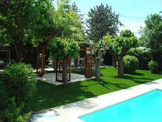 cesped artificial jardineria