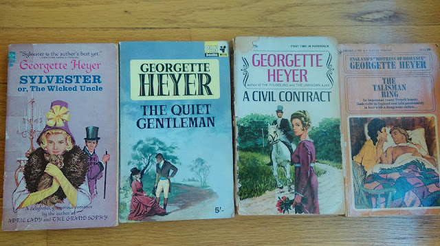 books--Georgette Heyer