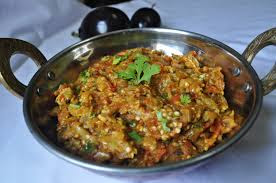 Resep Masakan Baingan bharta Makanan Khas India