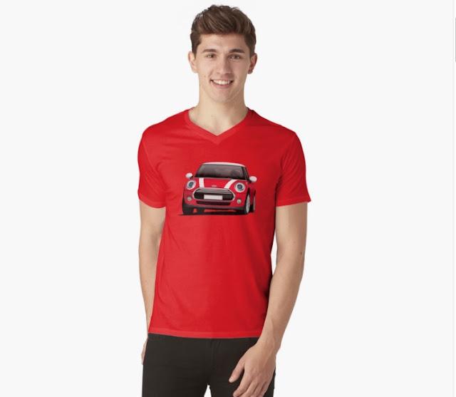 MINI Cooper t-shirt on Redbubble