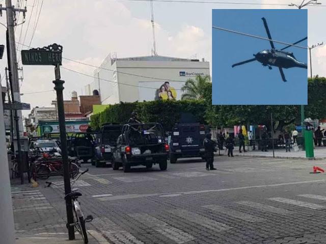 VIDEO; Operativo de la PF con helicópteros Black Hawck genera nerviosismo en Jalisco