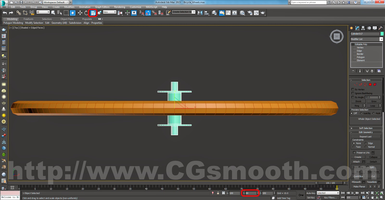 Tutorials For 3ds Max: Bicycle Wheels - 3ds Max Modeling