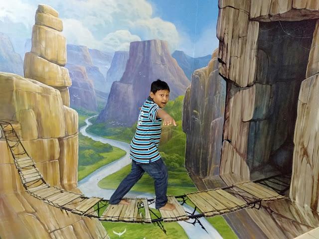 Museum Lukisan Lucu (Lulu) 3D Trick Art