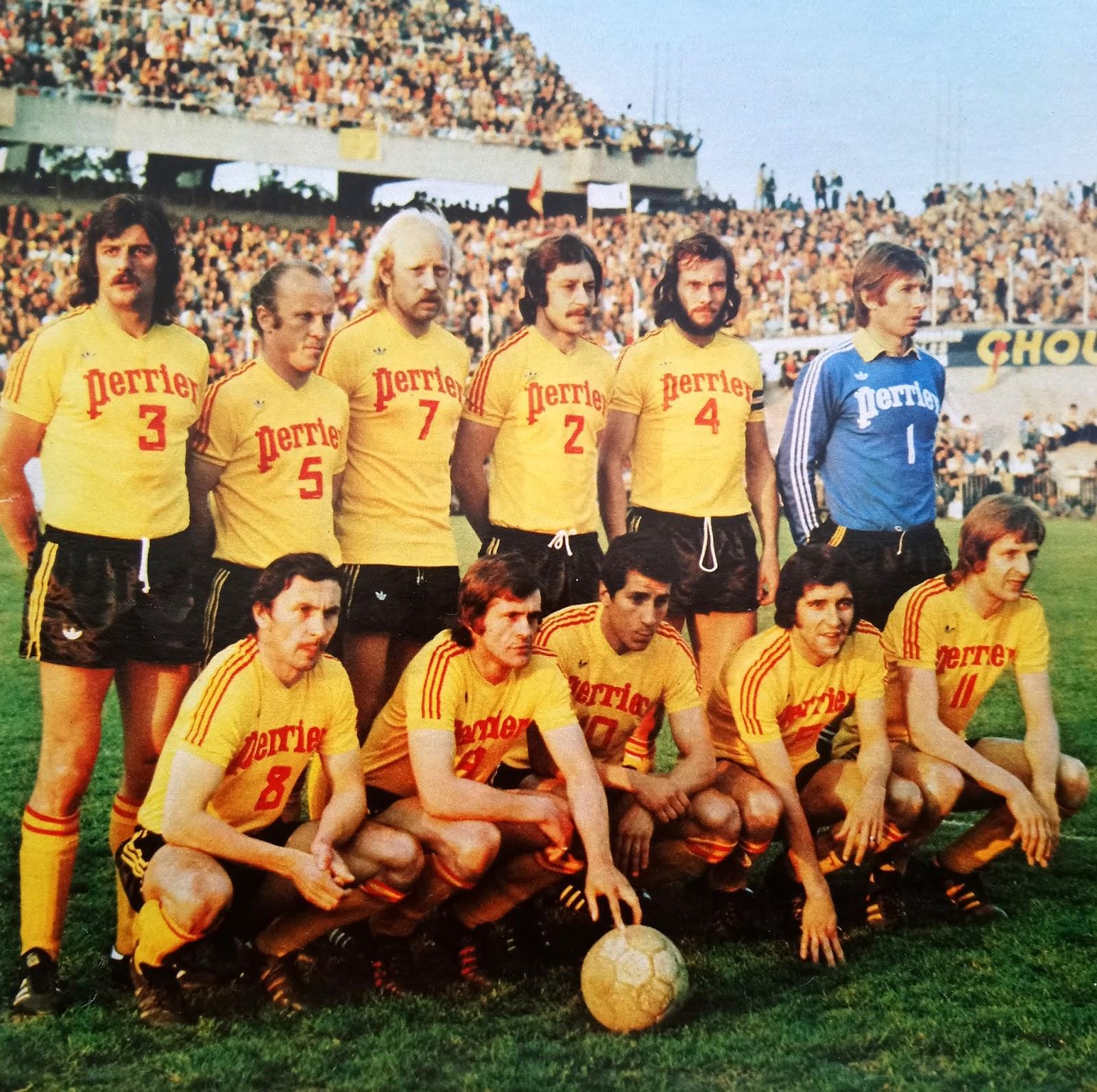 The Vintage Football Club R C Lens 1974 75 By Ageducatifs
