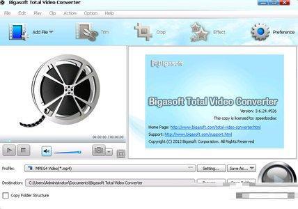 Bigasoft total video converter activation code