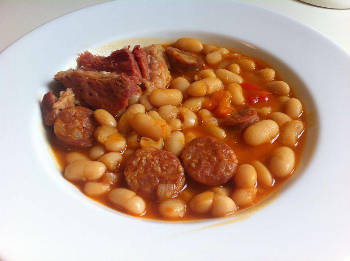 Alubias Con Chorizo Para Dos Varomeando Manuel Apir