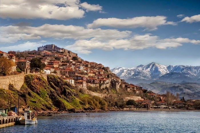 Molyvos – a Tourist Capital of Historic Island of Lesbos, Hellas (Greece)