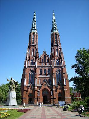 St Florian's Cathedral in Warsaw, where Paweł Łukaszewski conducts Musica Sacra