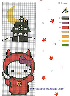 Ducklingpond Hello Kitty Cross Stitch Patterns