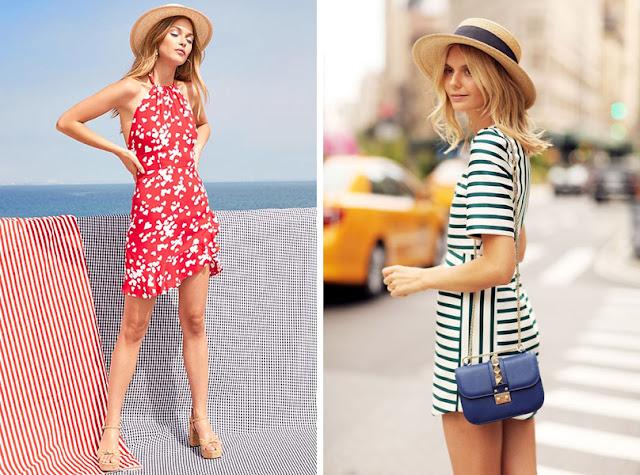 Девушка в соломенной шляпе канотье летом в городе