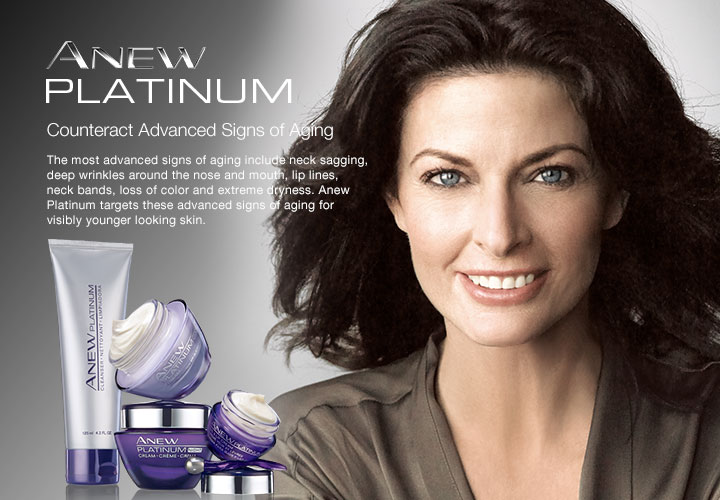 Most Advanced Signs of Aging Treat the most advanced signs of aging with Anew Platinum.