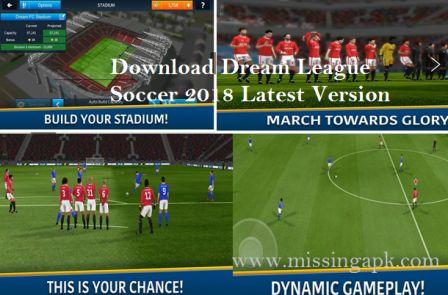 Download Dream League Soccer 2018 for Android -www.missingapk.com