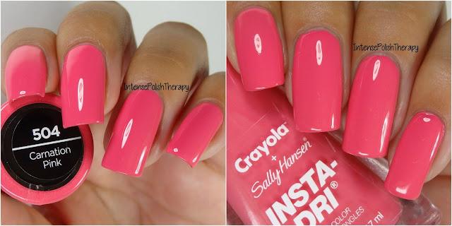 Sally Hansen + Crayola - Carnation Pink
