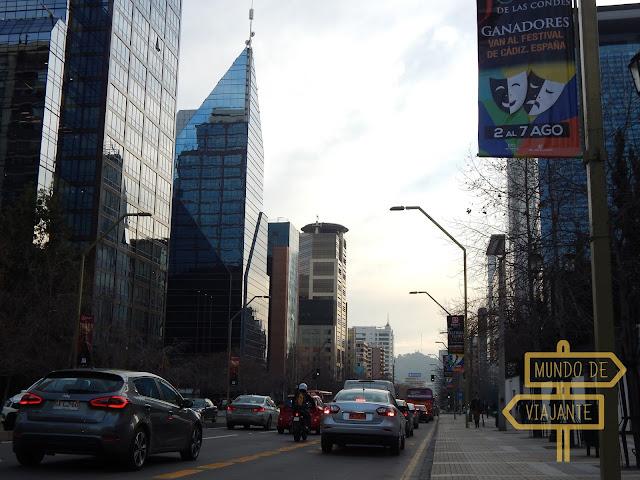 Bancos brasileiros em Santiago no Chile