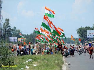 ऋषिकेश से दिल्ली काँवड़ियों के साथ-साथ