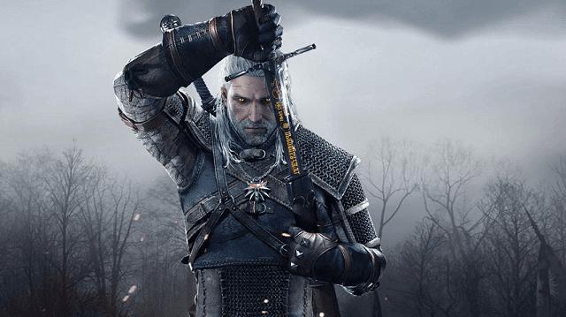 Geralt adalah sosok yang tangguh dalam game The Witcher, game ini juga diselipkan beberapa adegan dewasa