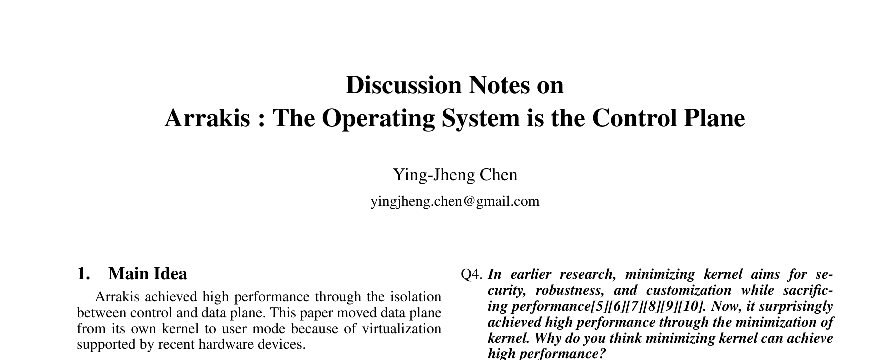 operating system research papers pdf
