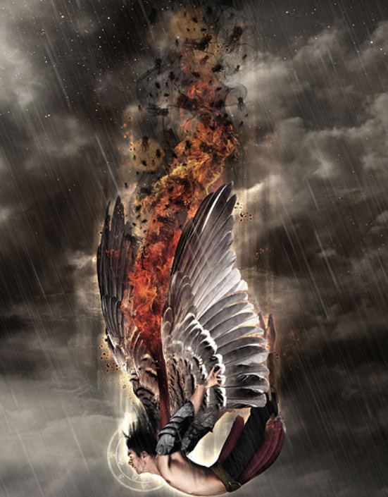Supernatural Angels Falling Wallpaper I Am The Word And The Comforter Satan New World Order