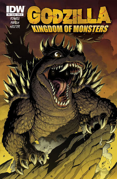 Review: Godzilla: Kingdom of Monsters #3 - May 29, 2011