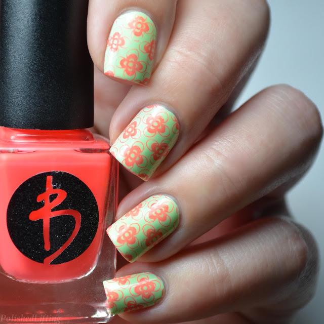 nail art swatch