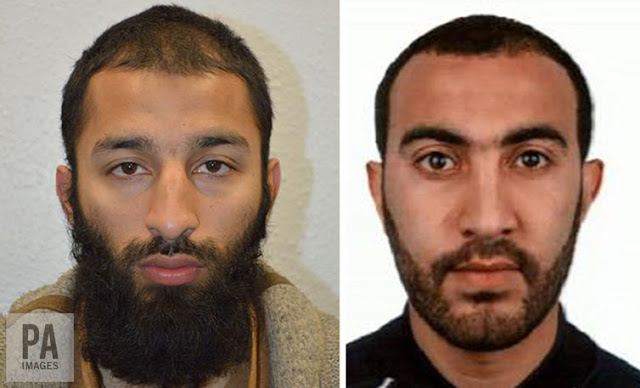 Shazad Butt and Rachid Redouane, two of the three London Bridge attackers