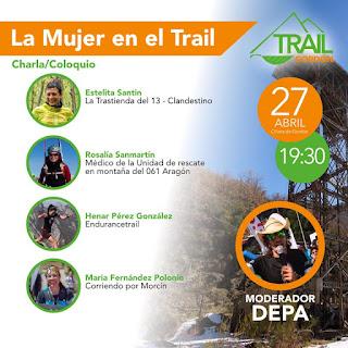 Charla La Mujer en el Trail