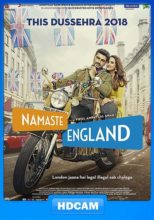 Namaste England 2018 Hindi 720p PreDVDRip x264 | 480p 300MB | 100MB HEVC
