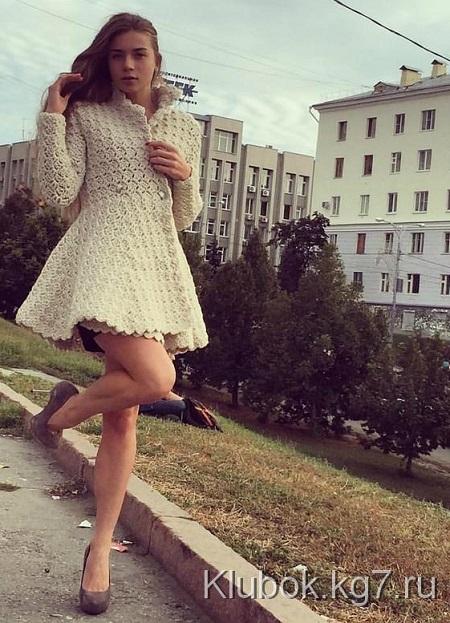 Moda Feminina - Cardigã Feminino De Crochê