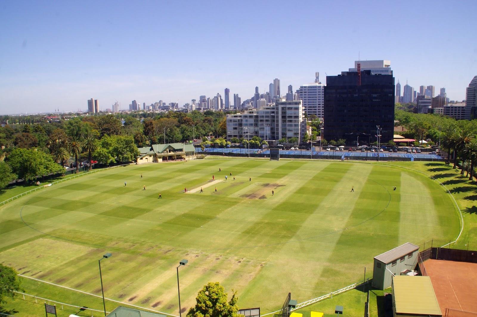 Melbourne Parkview Hotel Albert Park Views
