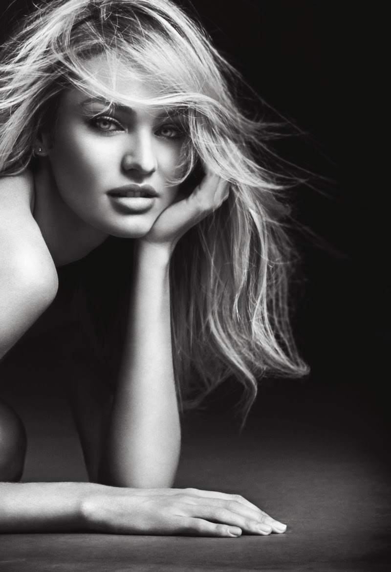 Candice Swanepoel gets sultry for the 2015 Victoria's Secret Bombshell Fragrance Campaign