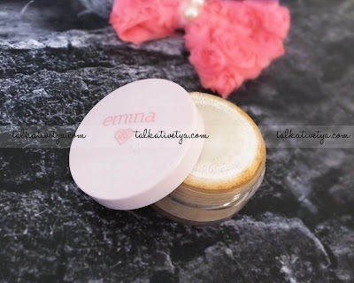 Emina Cosmetics Bare With Me Mineral Loose Powder in Ebony